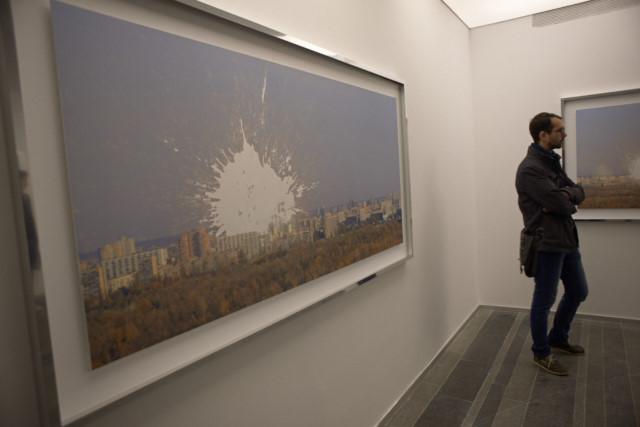 Выставка 21 номинанта Премии Future Generation Art Prize 2014. Работа Жанны Кадыровой