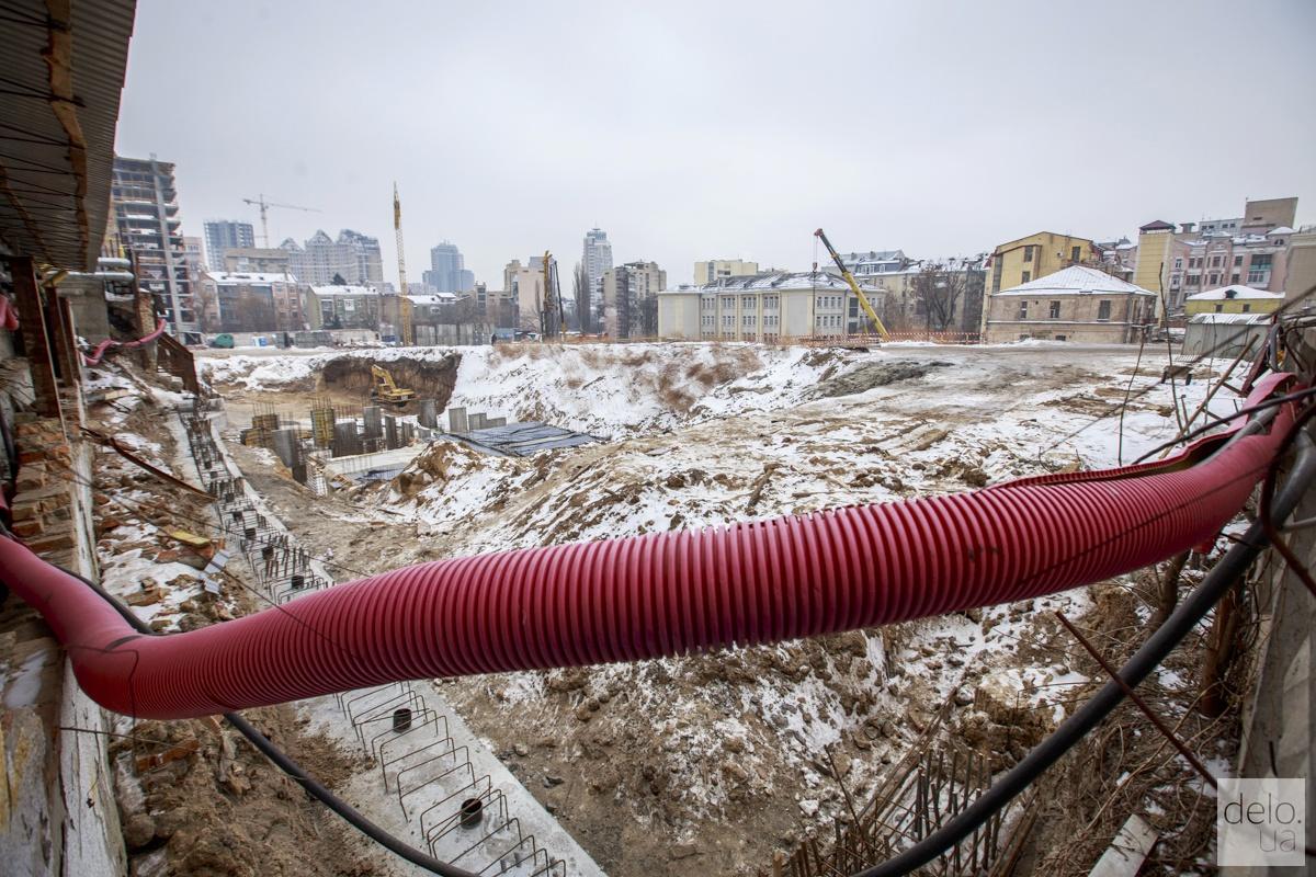 """Застройка """"Сенного рынка"""". Фото: Т.Довгань"""