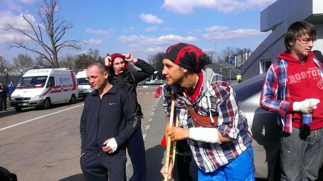 Раненные майдановцы отправляются на лечение и реабилитацию в немецкие клиники