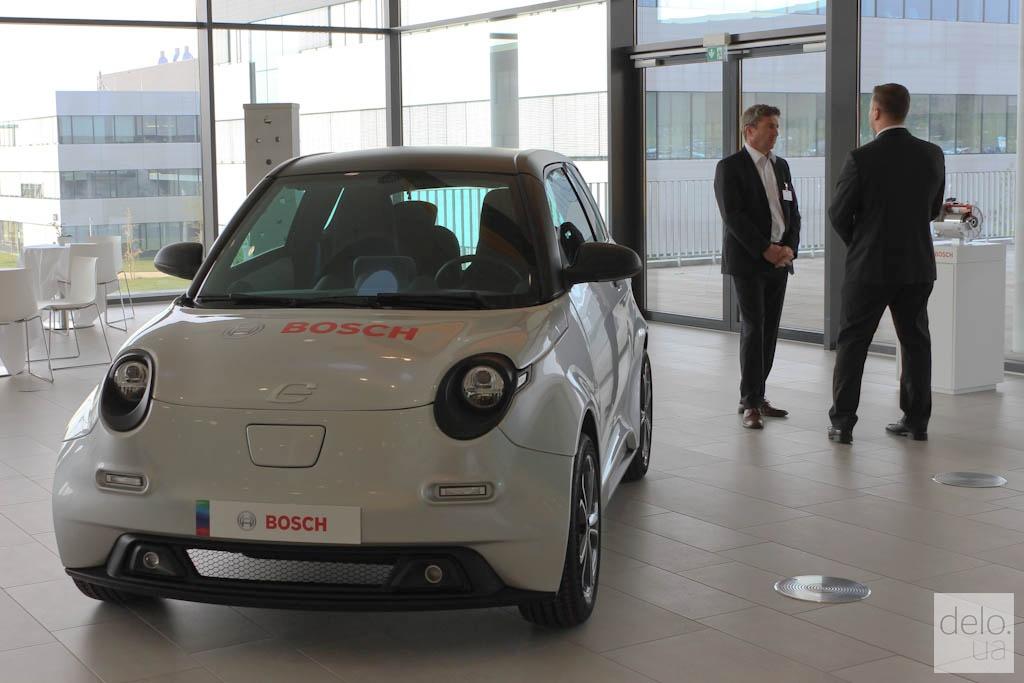 Электрокар Bosch e.GO / фото Артем Ильин Delo.UA