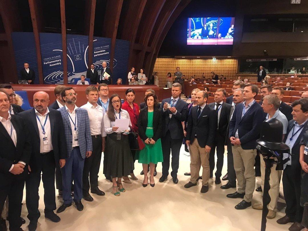 К демаршу Украины и еще 6 стран в ПАСЕ присоединилась Швеция — нардеп