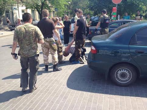 Похищение человека террористами ДНР в Донецке