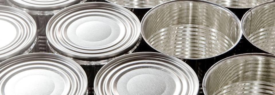 жестяные банки для пищевой промышленности