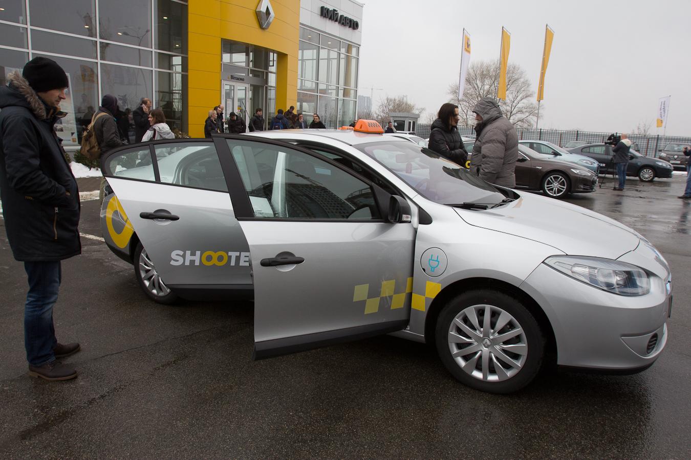 Милые Renault Fluence Z.E. Фото: Татьяна Довгань
