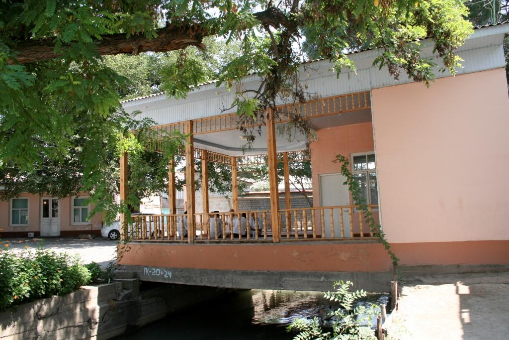 Чайхана. Махалля в Ташкенте