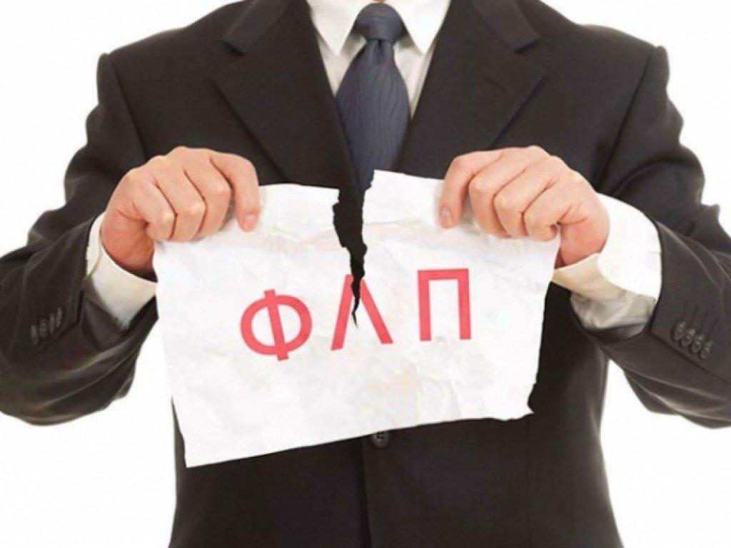 В Украине с начала года закрылись более 160 тысяч ФЛП