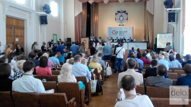 Репортаж из Мариуполя. Международная конференция в ПГТУ