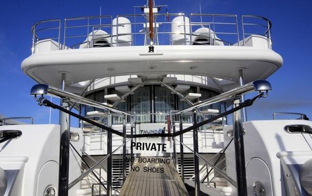 Яхта березовского фото