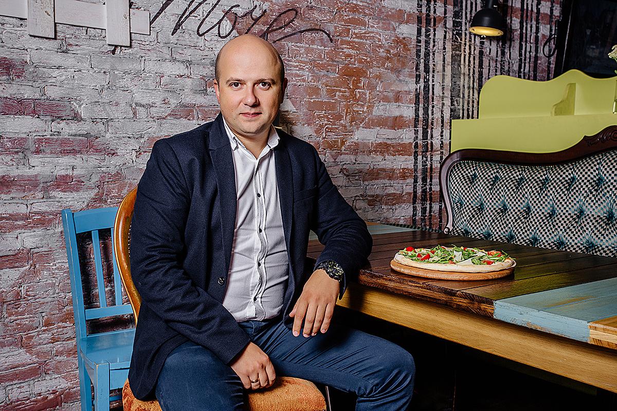 Владимир Гнатюк, СЕО компании Fast Food System, владеющей сетью Pizza Celentano