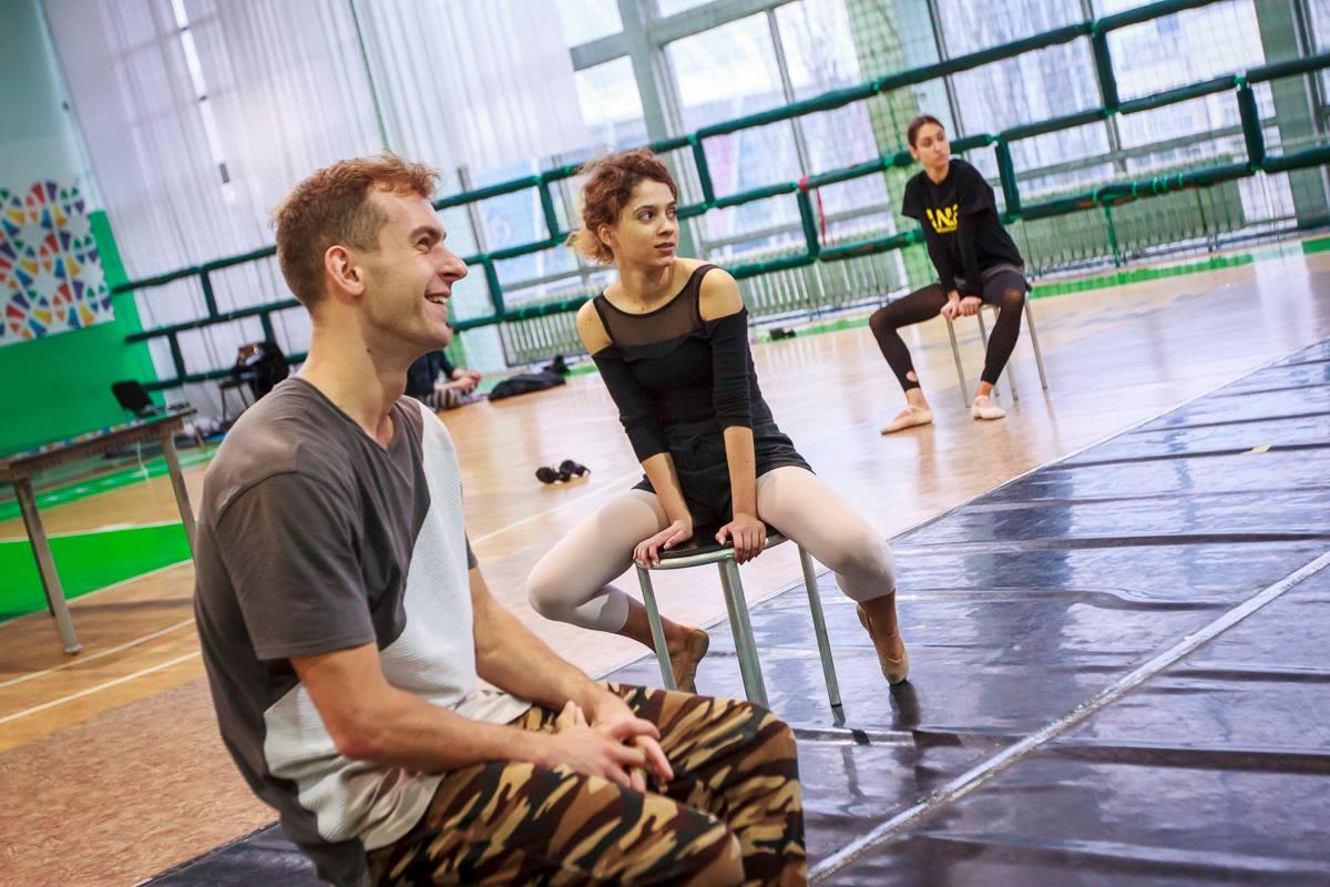 На репетиции балета The Great Gatsby Ballet в Киеве. Фото: Татьяна Довгань
