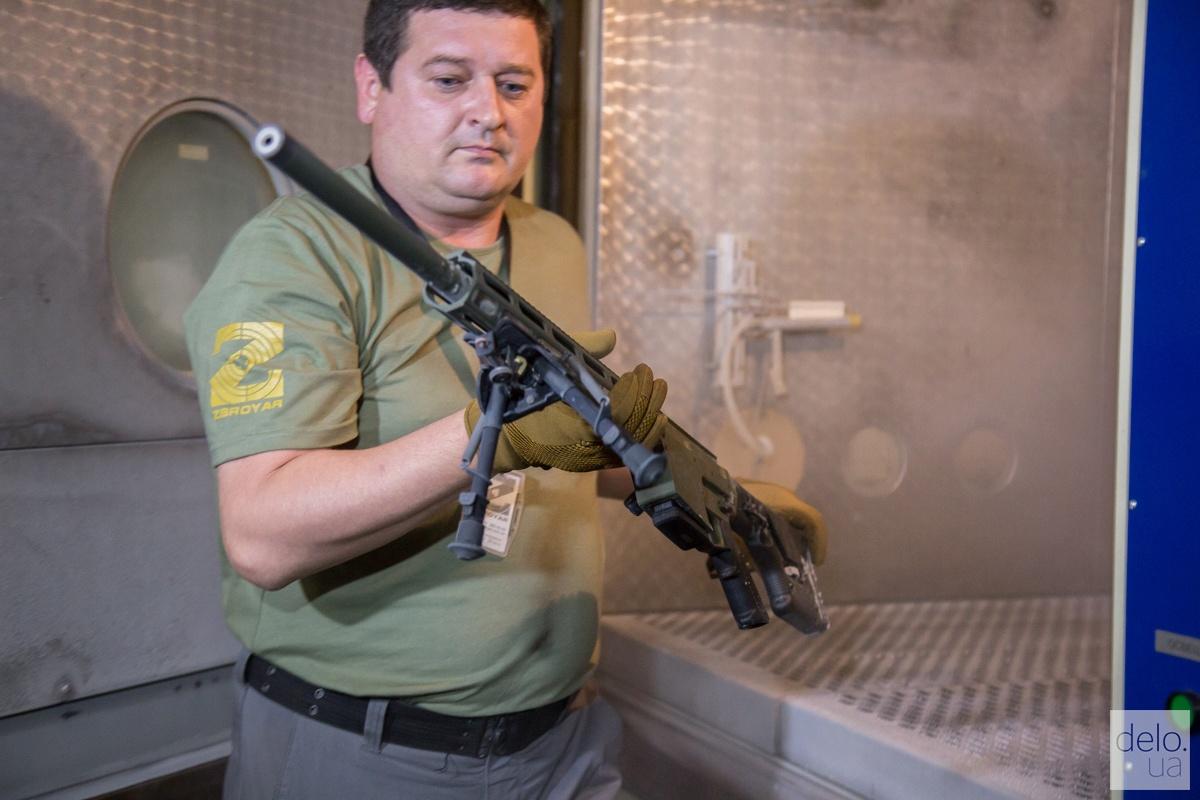 Камера, где винтовку поддают термоиспытаниям от -50 до +50º. Фото: Эмма Солдатова
