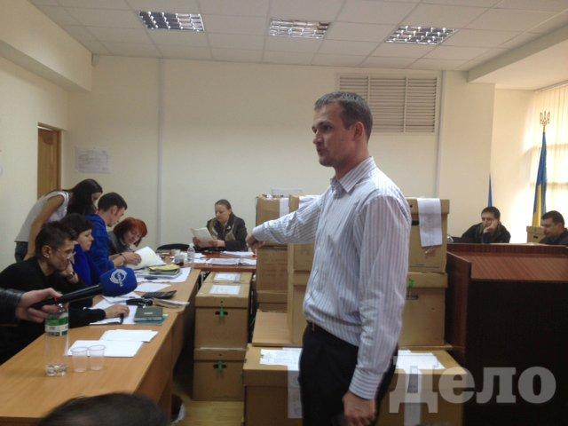 """Кандидатот ВО """"Свобода"""" Юрий Левченко в 223-м округе"""