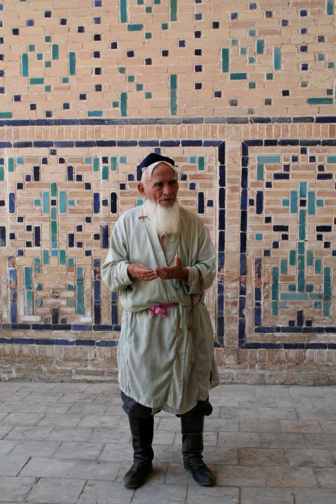 Бедняк в мечете Калян