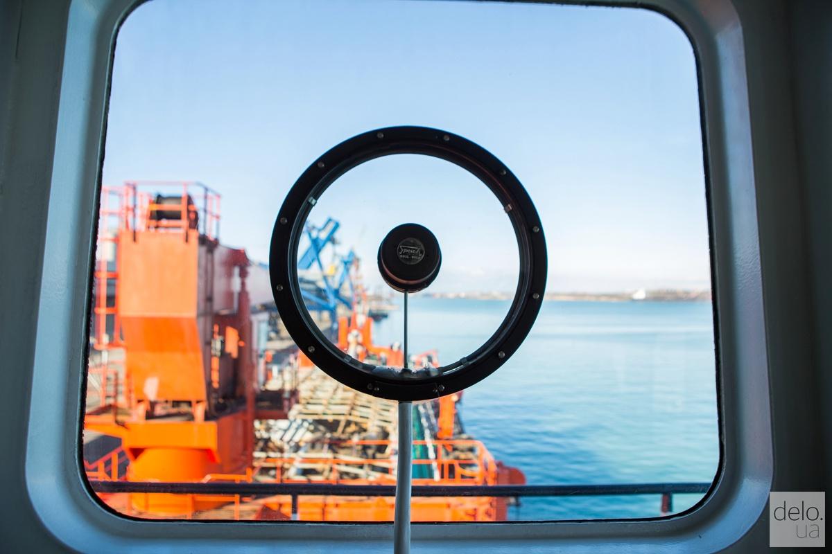 Дноуглубительное судно CHEC внутри. Фото: Эмма Солдатова