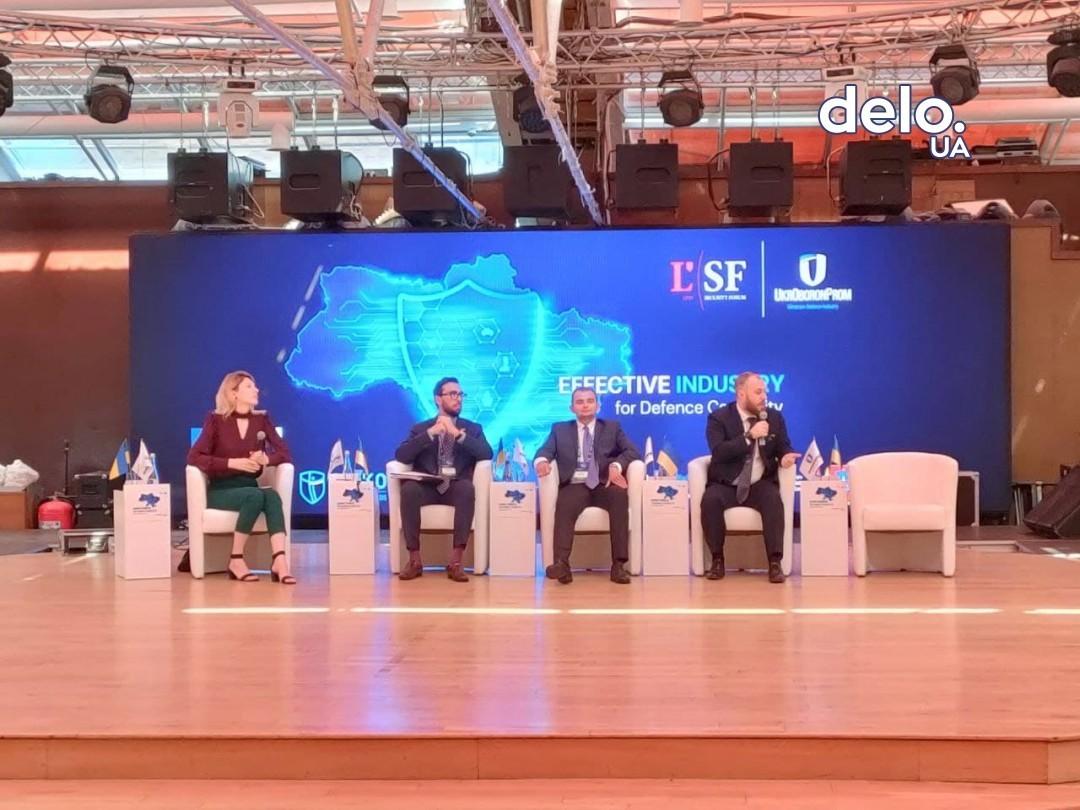 Роман Бондар на форуме. Фото: Delo.ua