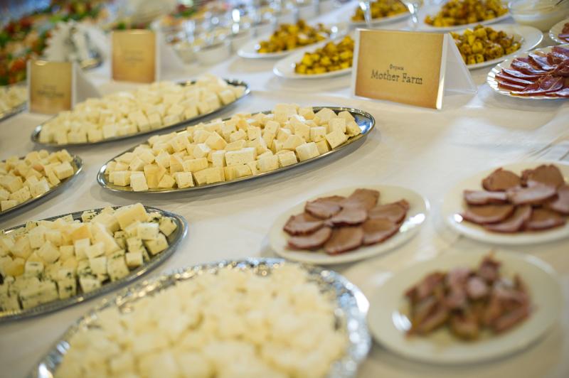 Разнообразие украинских сыров