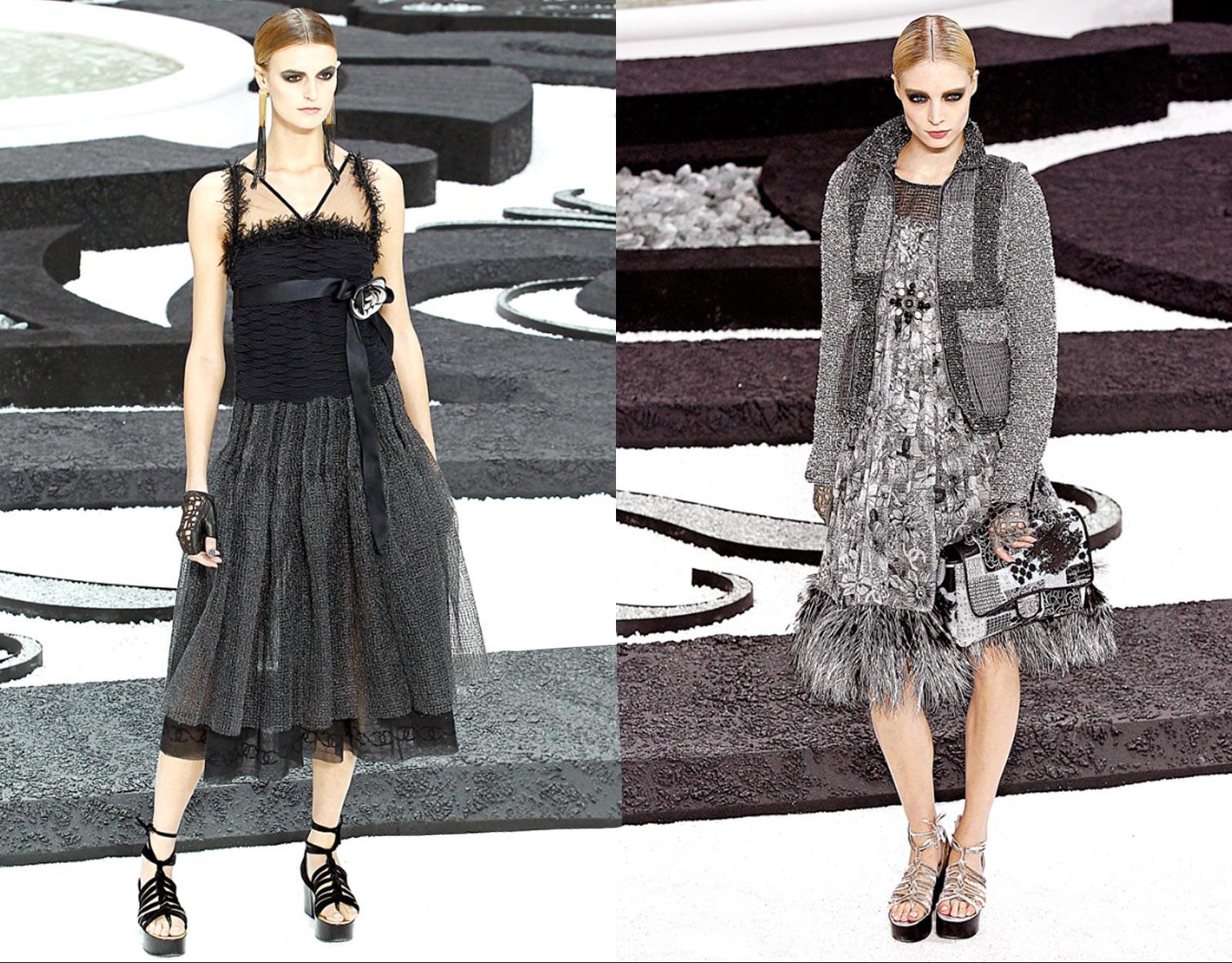 Модные модели вечерних коктейльных платьев.