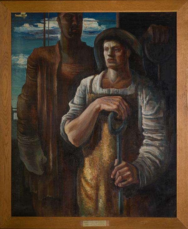 """Юрий Садыленко. """"Сталевары"""" (1930)"""