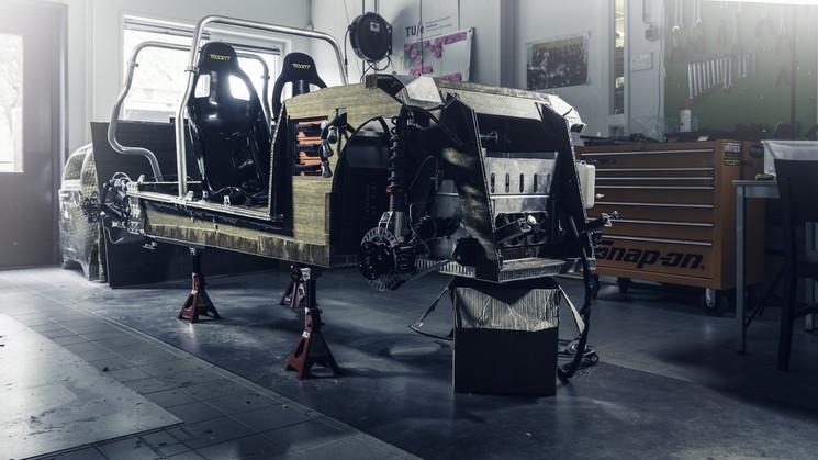 Биоразлагающийся автомобиль из свеклы и льна. Фото: crowdfund.tue.nl/