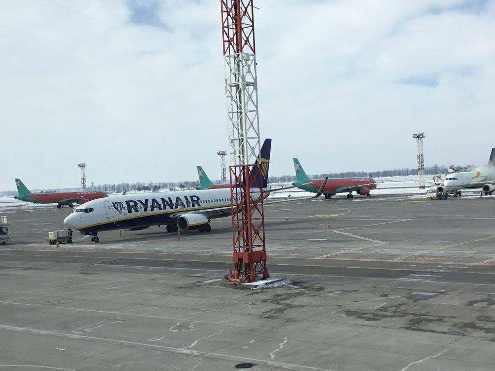 «Борисполь» и«Львов» договорились оначале полетов— Ryanair вУкраинском государстве