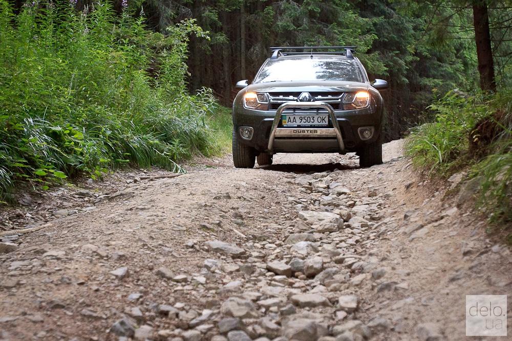 Тест-драйв Renault Duster в Карпатах