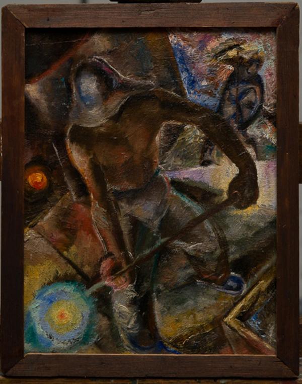 "Евгений Горбач. ""Сталевары"" (1930-е)"