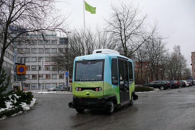 ВСтокгольме сянваря будут курсировать бесплатные беспилотные автобусы