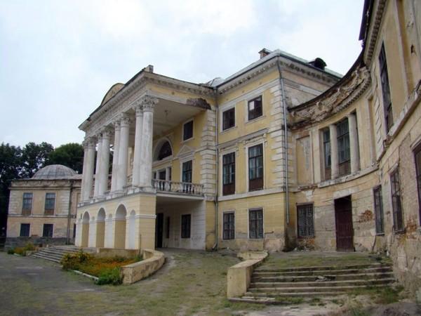 Дворец Грохольских-Можайских до реставрации