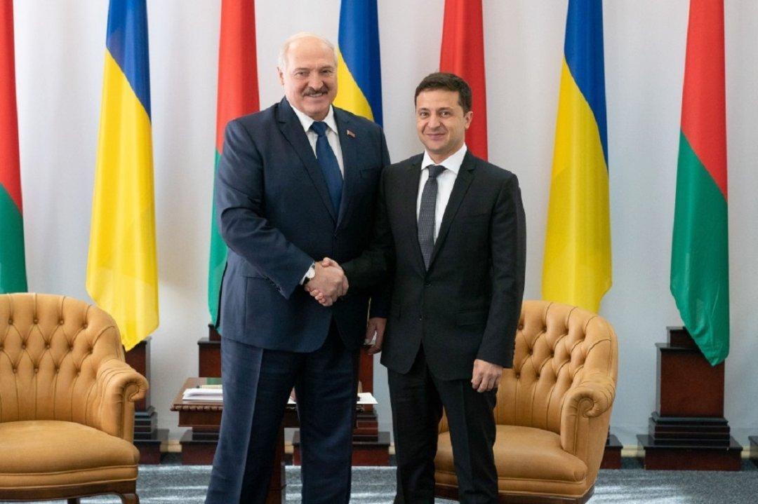 Лукашенко та Зеленський