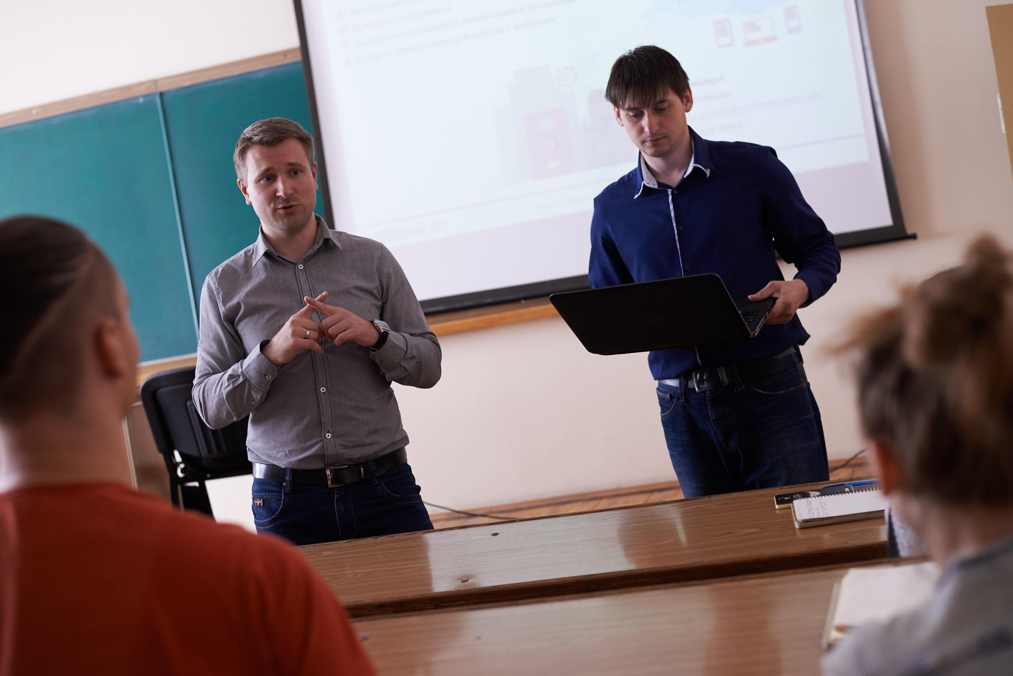 Денис Рыжих и Дмитрий Рябенко рассказывают об облачных продуктах Microsoft