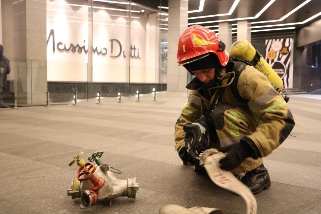 Краснодарский ТРЦ «Красная Площадь» проверили напожарную безопасность