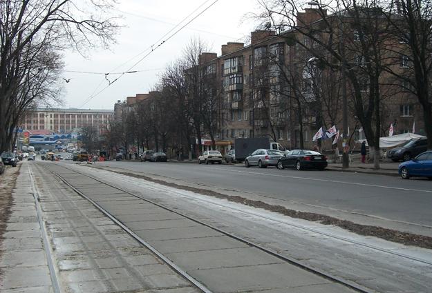 """Улица Дегтяревская от СИЗО до метро """"Лукьяновская"""""""