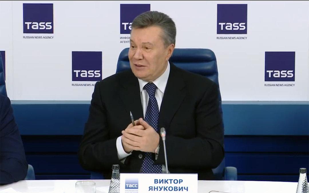 Янукович овзаимодействии сМанафортом: никогда необсуждал сПутиным