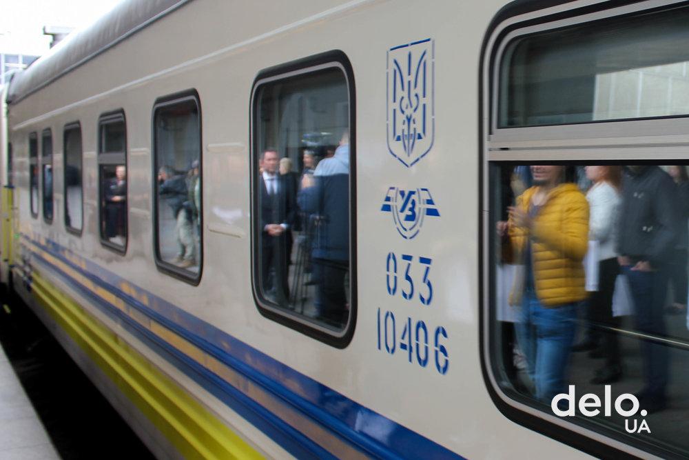 Новый пассажирский вагон Укрзализныци от Крюковского ВСЗ