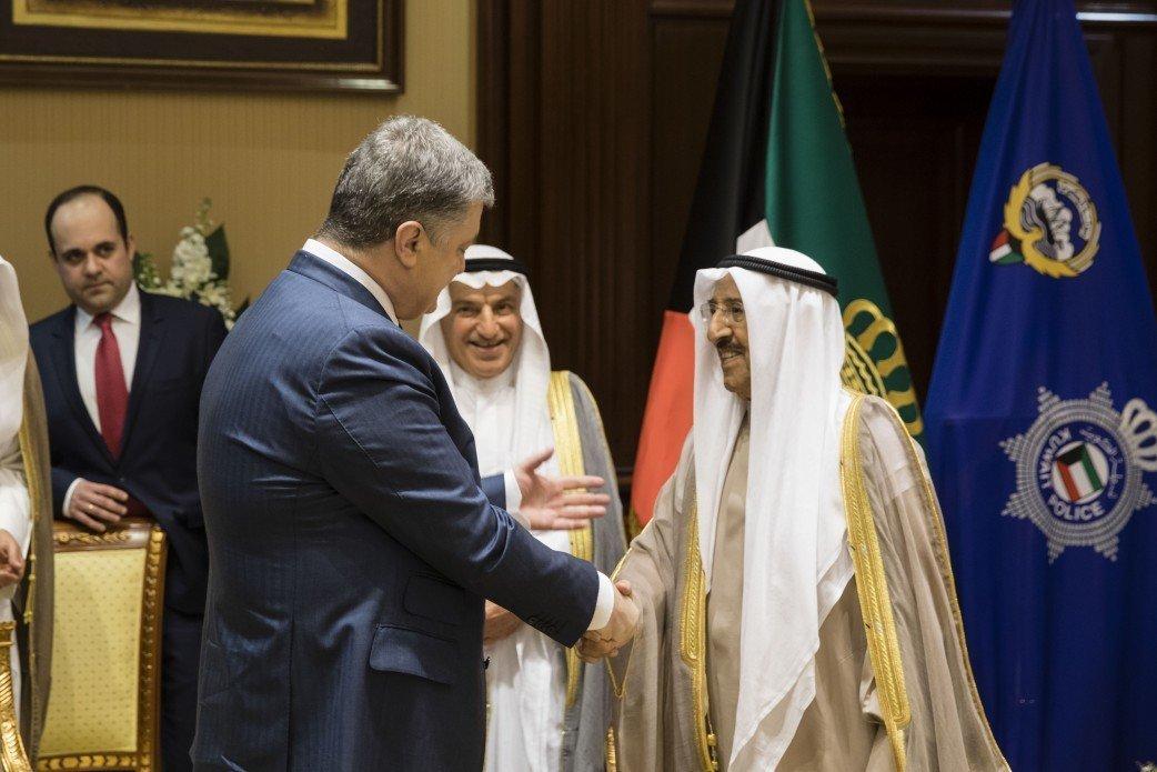 Порошенко посетит Кувейт софициальным визитом