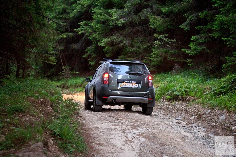 Тест-драйв Renault Duster в Карпатах (Фото Татьяна Довгань)