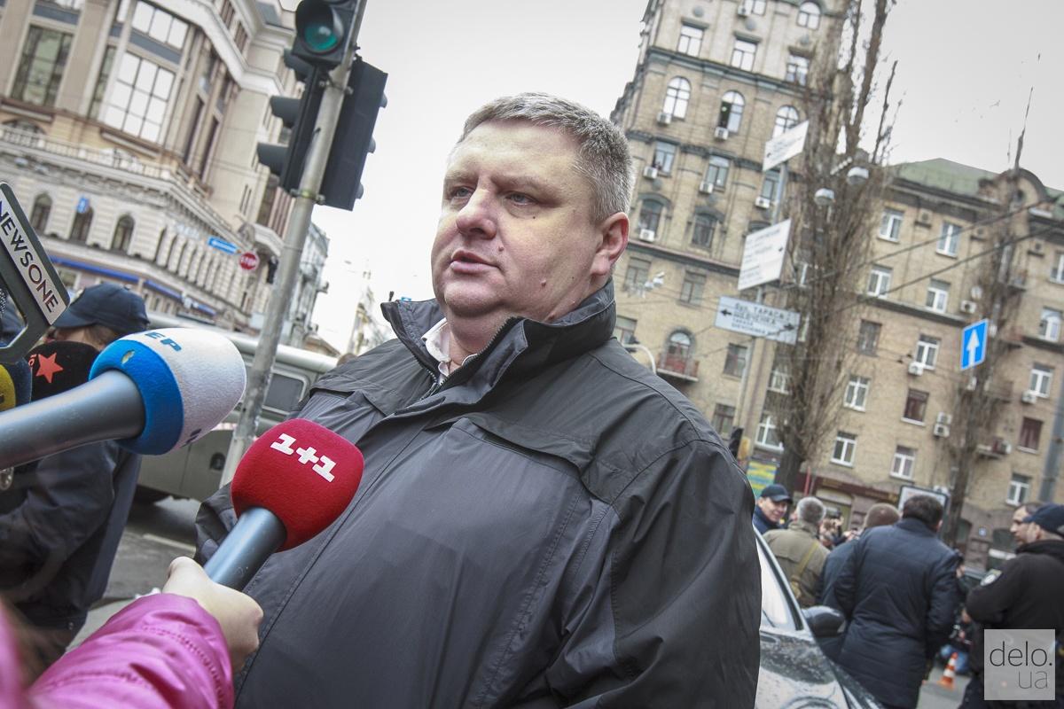 Начальник полиции Киева Андрей Крищенко. Фото: Татьяна Довгань