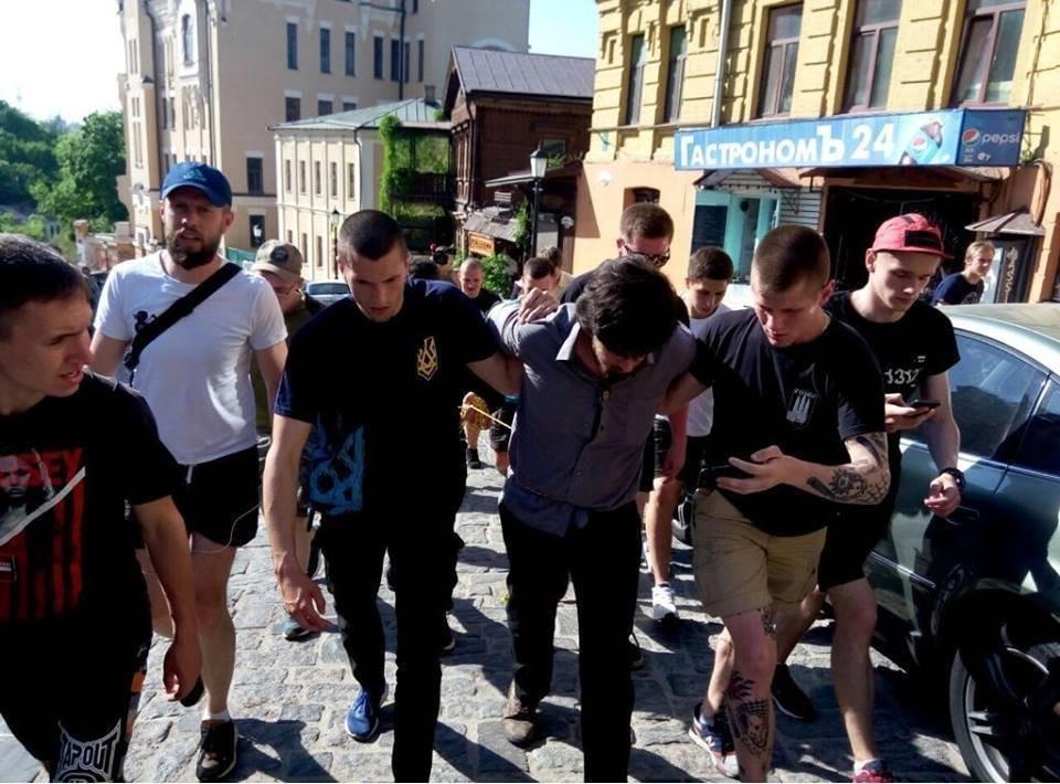 ВКиеве опять задержали воевавшего заДНР бразильца