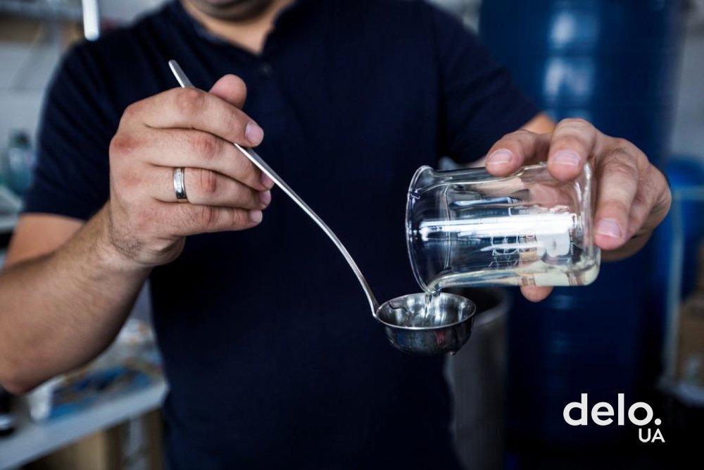 Чистая вода — главный компонент всех продуктов