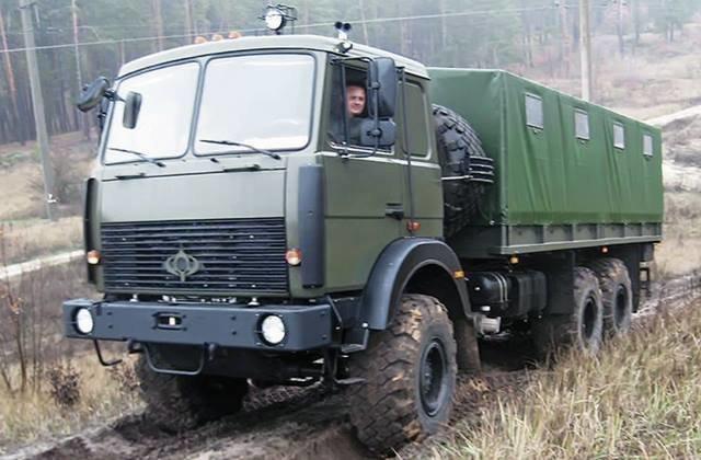 «Богдан» поставит армии грузовые автомобили скитайскими моторами