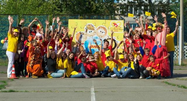 Волонтеры DHL