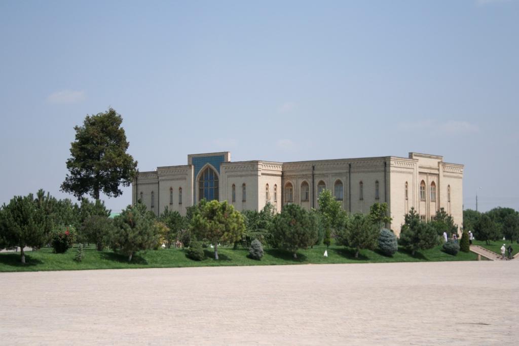 Исламский институт в Ташкенте. Здесь учился Рамзан Кадыров