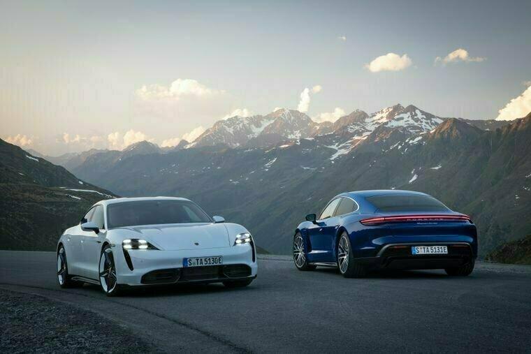 Автопроизводитель Porsche представил свой первый электрокар
