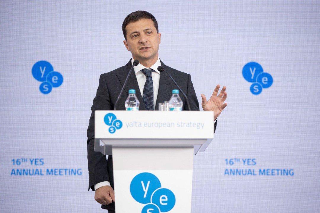 Санкции против РФ должны сохраняться до наступления мира — Зеленский