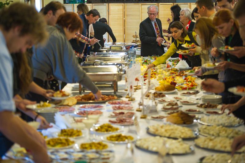 Еда украинских производителей пользовалась успехом