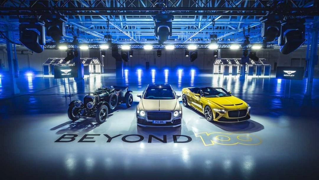 Bentley випускатимуть тільки електрокари