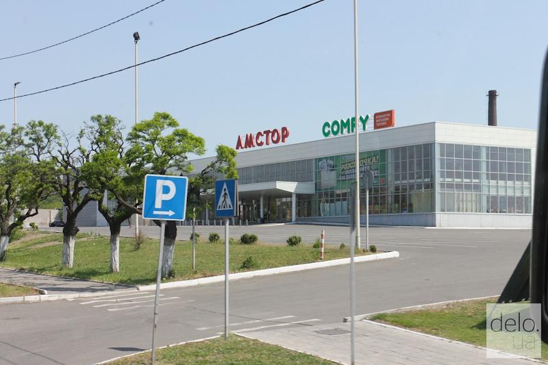 Репортаж из Мариуполя. Супермаркеты Амстор пустуют и ждут новых арендаторов