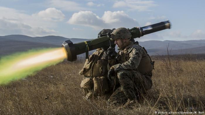 Украина уже получила противотанковые системы Javelin— Госдеп США