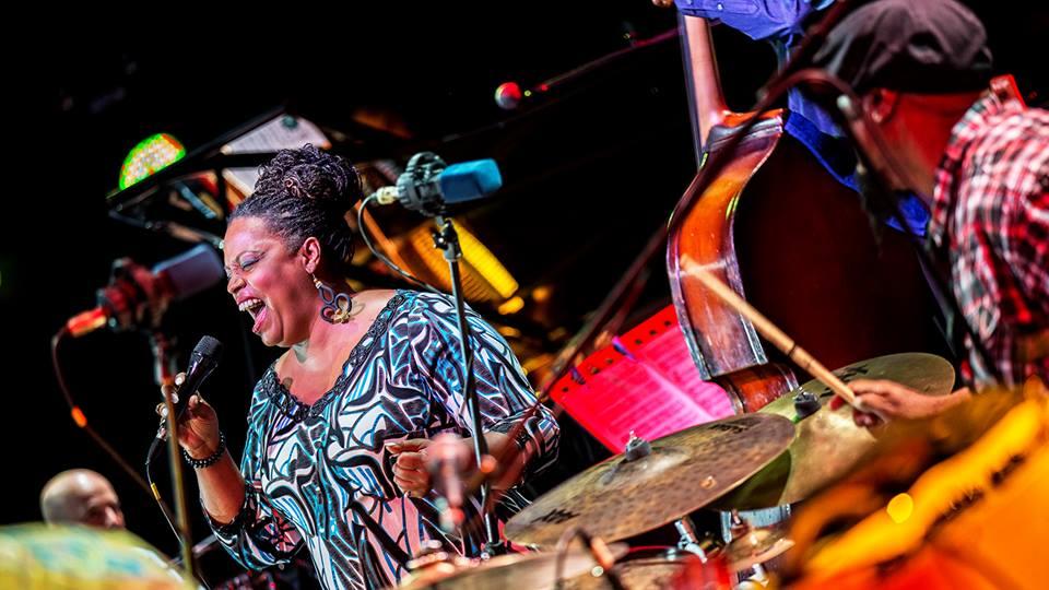 Дайан Ривз. Фото со страницы Alfa Jazz Fest в ФБ, Игорь Петров, igorpetrof.cx.ua.