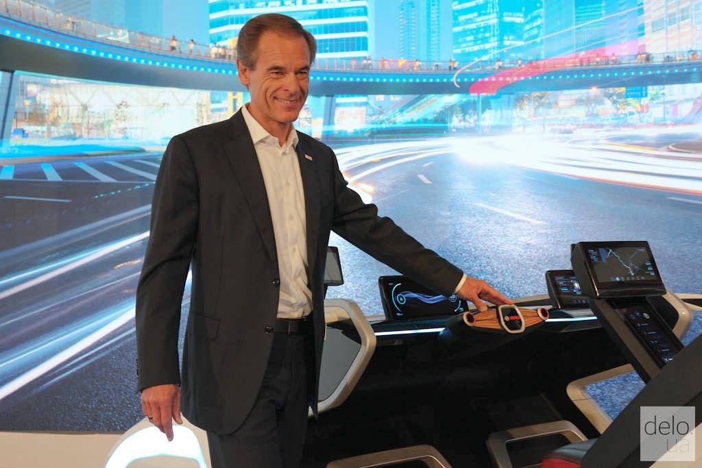 Председатель правления Bosch Фолькмар Деннер / фото Артем Ильин Delo.UA